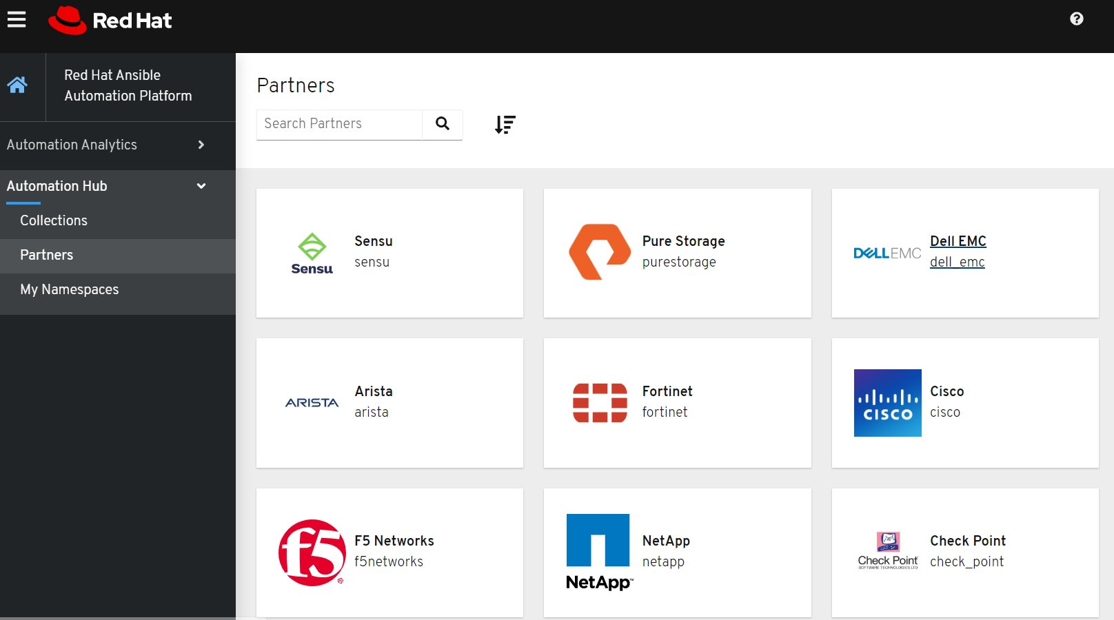 Ansible Automation Platform Certified Partners