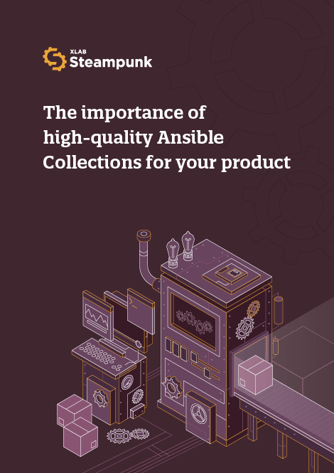 The importance of high-quality Ansible Collections for your product